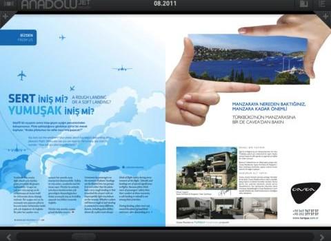 AnadoluJet Magazin Ekran Görüntüleri - 1