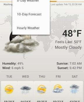 Android Weather & Clock Widget Ekran Görüntüleri - 4
