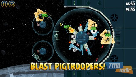 Angry Birds Star Wars Ekran Görüntüleri - 2