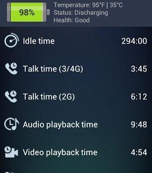 AVG TuneUp – Battery Saver Ekran Görüntüleri - 5