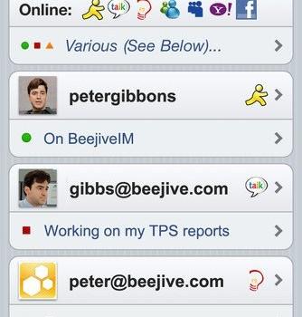 Beejive Free Instant Messenger Ekran Görüntüleri - 2