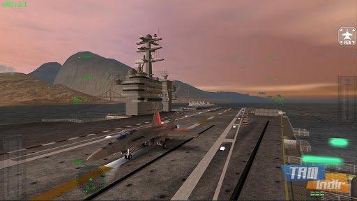 F18 Carrier Landing Lite Ekran Görüntüleri - 1