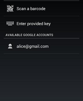Google Authenticator Ekran Görüntüleri - 1