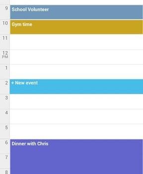 Google Calendar Ekran Görüntüleri - 3