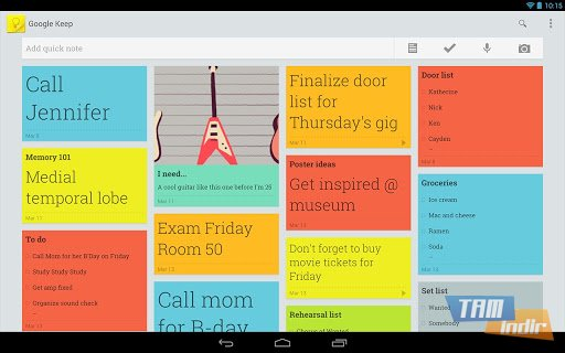 Google Keep Ekran Görüntüleri - 1