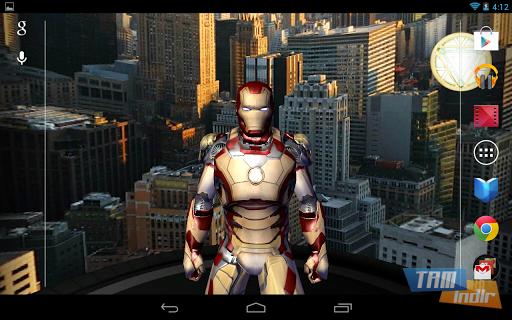Iron Man 3 Live Wallpaper Ekran Görüntüleri - 2