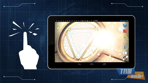 Iron Man 3 Live Wallpaper Ekran Görüntüleri - 5