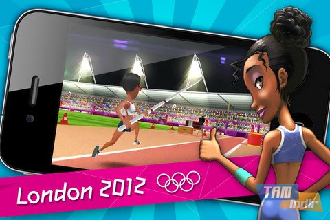 London 2012 - Official Mobile Game Ekran Görüntüleri - 2
