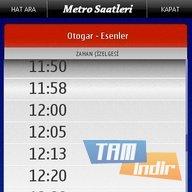 Metro Saatleri - Nokia Ekran Görüntüleri - 1
