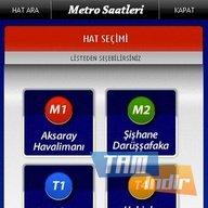Metro Saatleri - Nokia Ekran Görüntüleri - 2