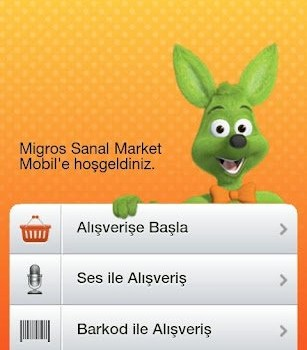Migros Sanal Market Ekran Görüntüleri - 1