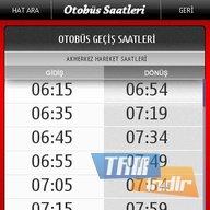 Otobüs Saatleri - Nokia Ekran Görüntüleri - 1