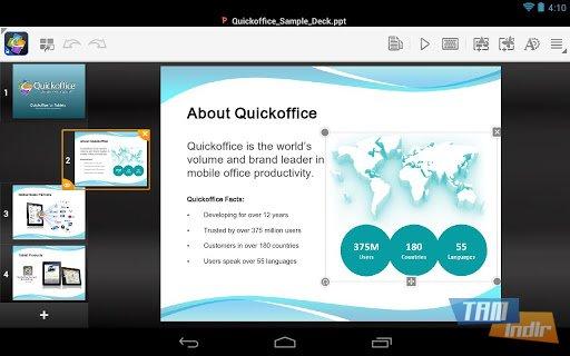 Quickoffice Ekran Görüntüleri - 3
