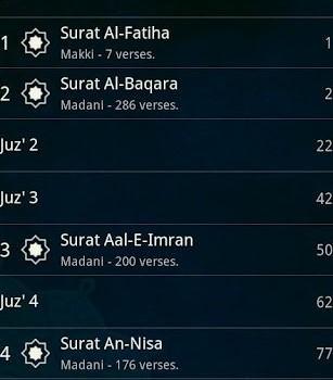 Quran Android Ekran Görüntüleri - 1
