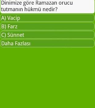Ramazan Bilgi Yarışması Ekran Görüntüleri - 2