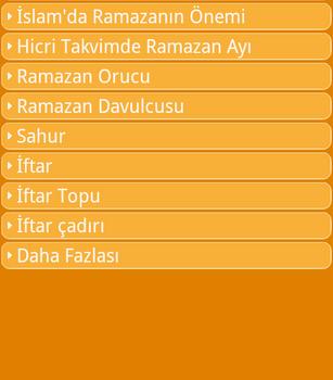Ramazan Ekran Görüntüleri - 1