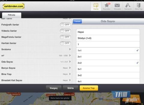 sahibinden.com Emlak Ekran Görüntüleri - 1