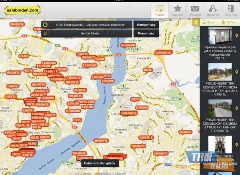 sahibinden.com Emlak Ekran Görüntüleri - 3