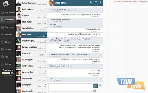 SMS Text Messaging PC & Backup Ekran Görüntüleri - 2