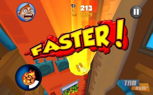 Super Falling Fred Ekran Görüntüleri - 4