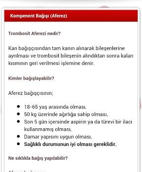 Türk Kızılayı Ekran Görüntüleri - 3