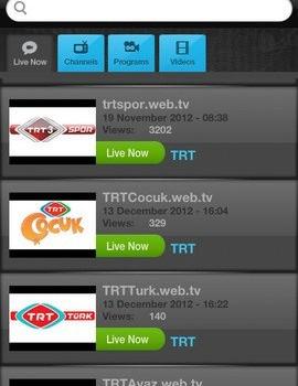 Web.TV Ekran Görüntüleri - 2