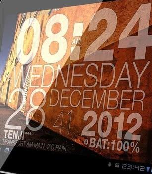 Wp Clock Design Live Wallpaper Ekran Görüntüleri - 2