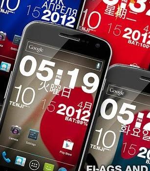 Wp Clock Design Live Wallpaper Ekran Görüntüleri - 4