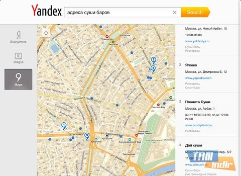 Yandex.Search for iPad Ekran Görüntüleri - 3