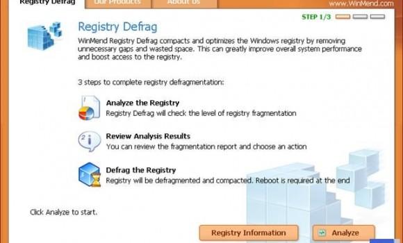 WinMend Registry Defrag Ekran Görüntüleri - 2
