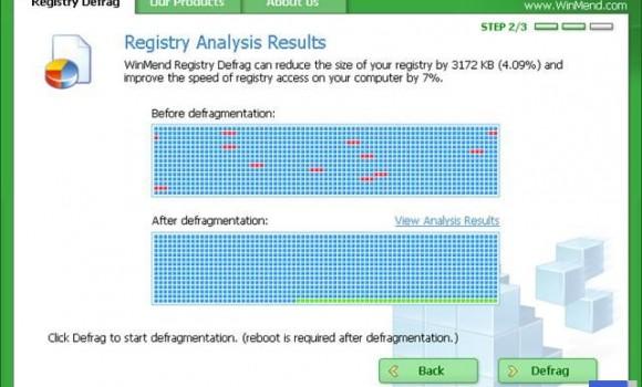 WinMend Registry Defrag Ekran Görüntüleri - 1