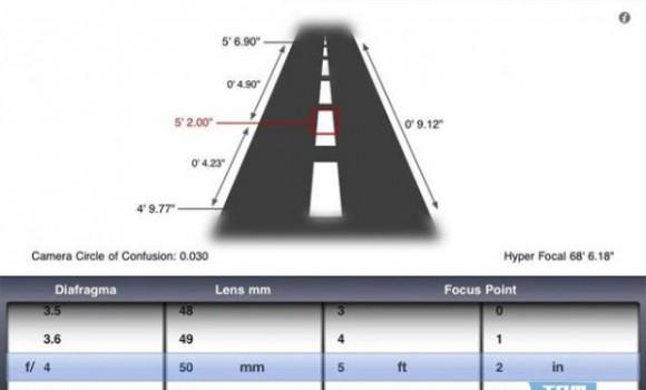 Simple DOF Calculator Ekran Görüntüleri - 2