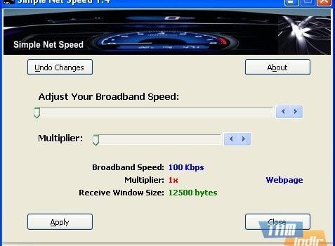 Simple Net Speed Ekran Görüntüleri - 1