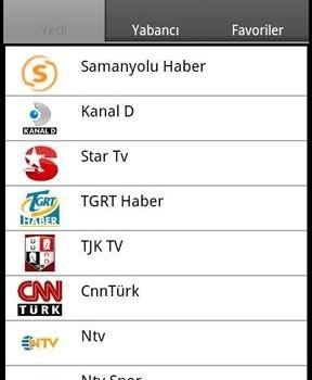 CanliTV Ekran Görüntüleri - 1