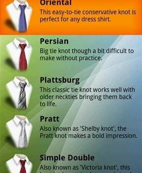 How to Tie a Tie Ekran Görüntüleri - 1
