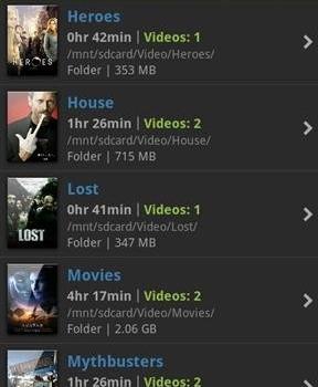 mVideoPlayer Ekran Görüntüleri - 1