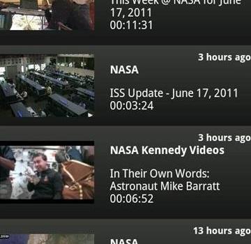 NASA App Ekran Görüntüleri - 1