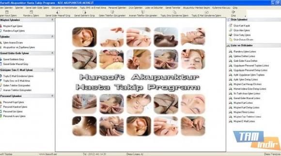 Hursoft Akupunktur Hasta Takip Programı Ekran Görüntüleri - 1