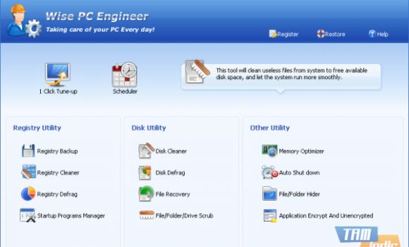 Wise PC Engineer Ekran Görüntüleri - 1