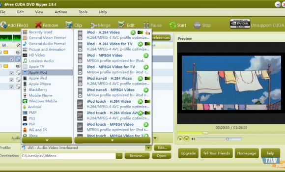 4Free DVD Ripper Ekran Görüntüleri - 5