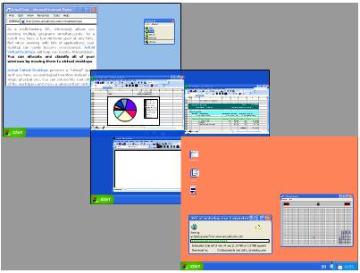 Actual Virtual Desktops Ekran Görüntüleri - 1