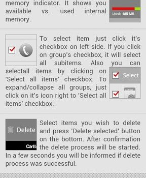 Android Delete History Ekran Görüntüleri - 1