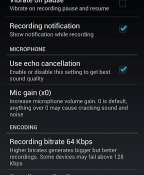 ASR - Ücretsiz MP3 ses kayıt Ekran Görüntüleri - 5