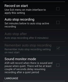 ASR - Ücretsiz MP3 ses kayıt Ekran Görüntüleri - 3