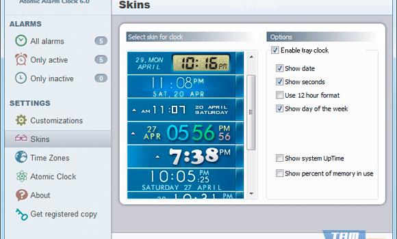 Atomic Alarm Clock Ekran Görüntüleri - 2