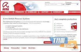 Avira AntiVir Rescue System Ekran Görüntüleri - 4