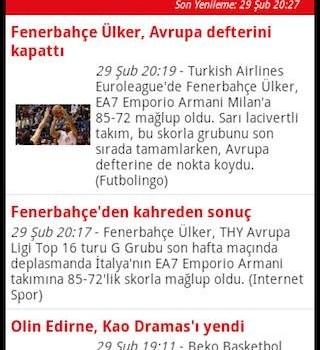 Basketbol Haberleri Ekran Görüntüleri - 7