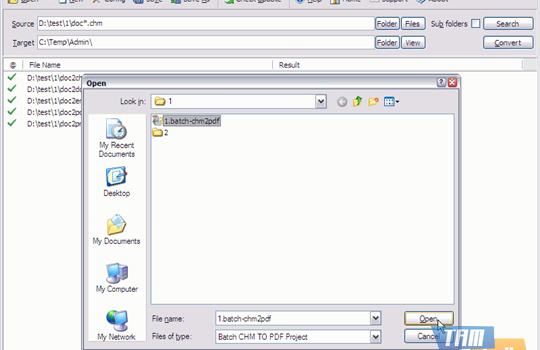 Batch CHM to PDF Converter Ekran Görüntüleri - 3