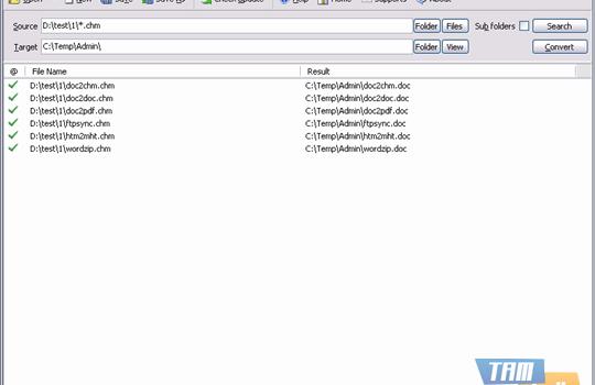 Batch CHM to Word Converter Ekran Görüntüleri - 4