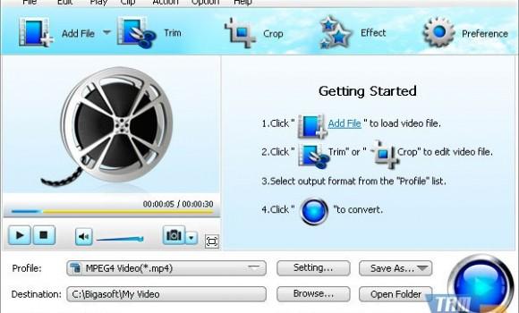 Bigasoft Total Video Converter Ekran Görüntüleri - 1